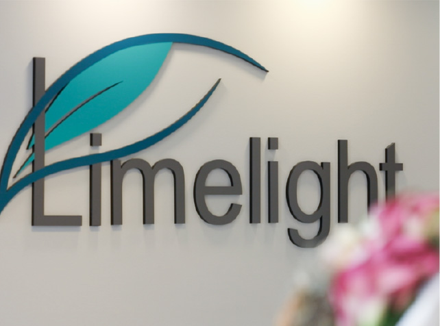 Reception of Limelight Physio Clinic in Vancouver Downtown