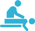Icon of one-on-One physiotherapy treatment in Vancouver Downtown